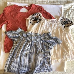 ROXY and more Peasant Top Bundle